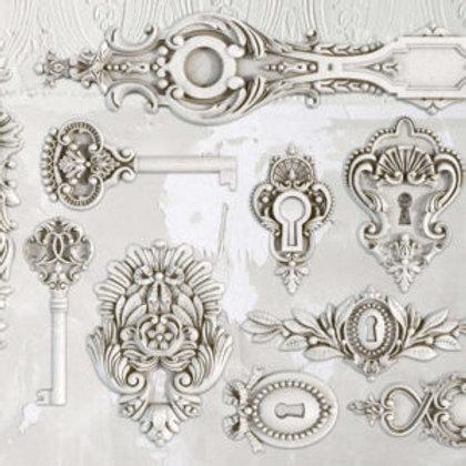 IOD Lock & Key Decor Moulds™