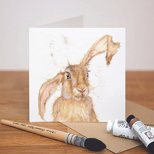 Heads Up! Hare Card