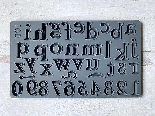 IOD Harper Alphabet Moulds™