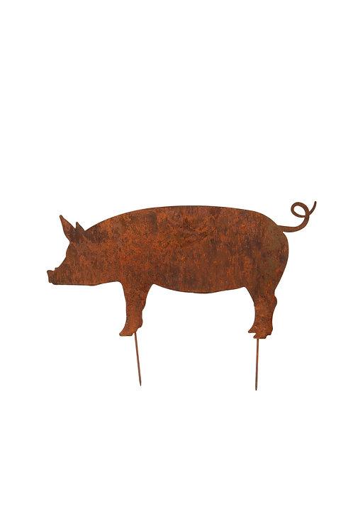 Rusty Hog on Stake