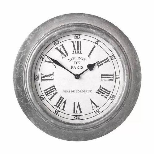 Bistrot De Paris Wall Clock