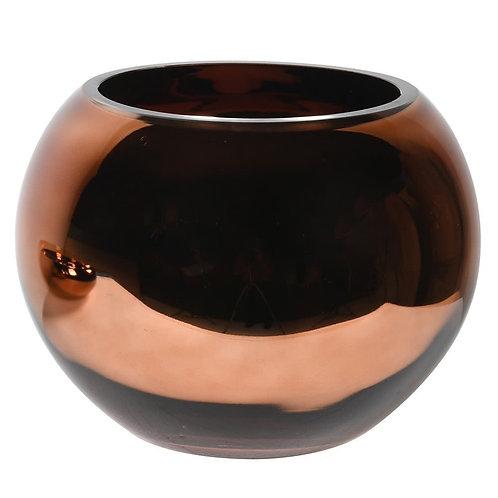 Bronze Boulbous Bowl