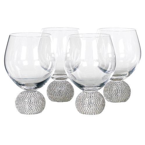 Set of 4 Dining Glasses