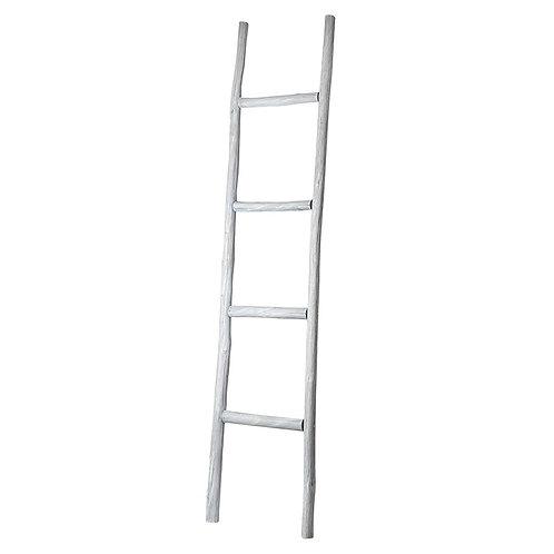White Wooden Display Ladder