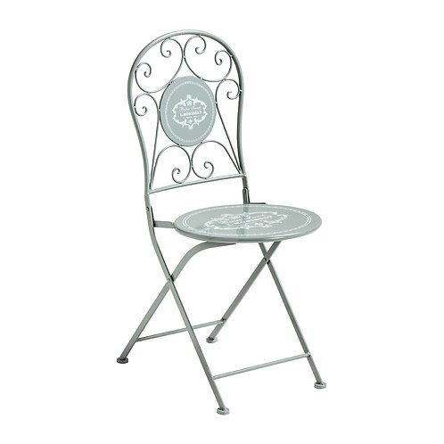 Cafe Cassis Grey Chair
