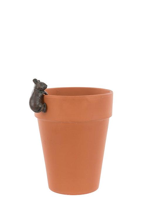 Mouse Pot Hanger Figure