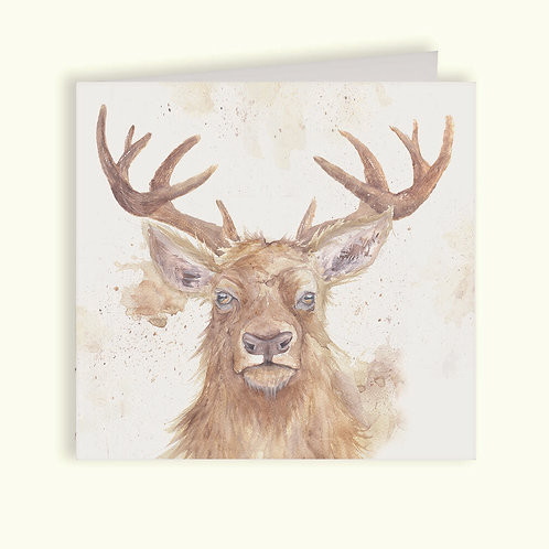 Red Deer Card