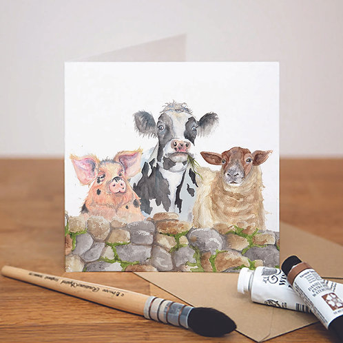 Farmyard Card