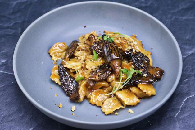 morel pasta