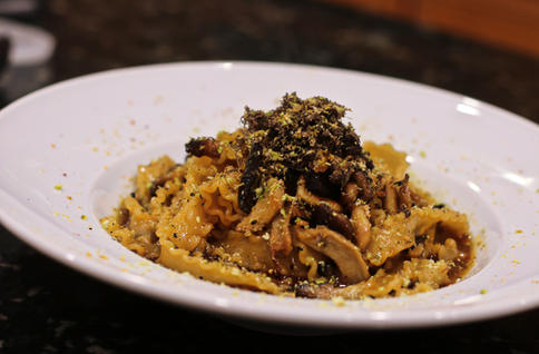 mafaldine with truffle