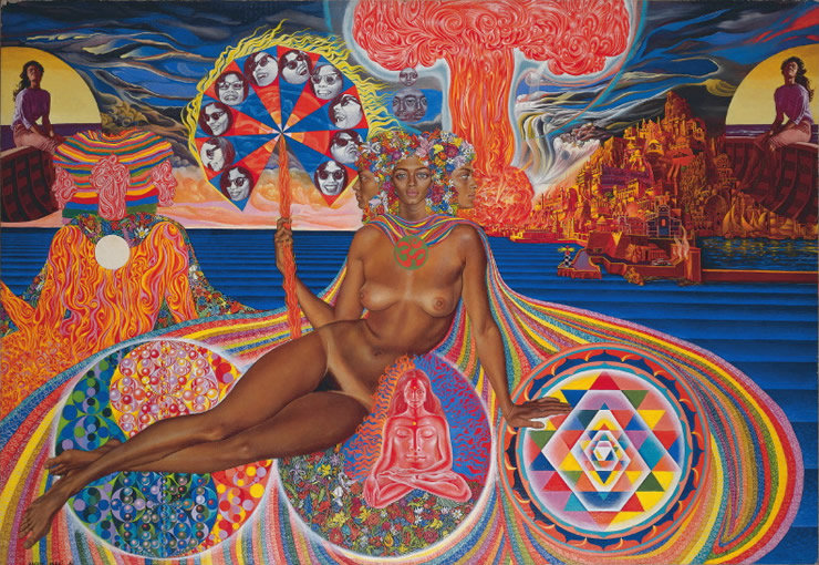 Mati Klarwein The Nativity 1976