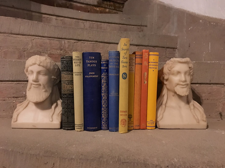 Vintage Christian Dior Marble Bookends