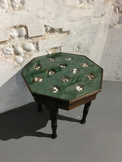 Decoy Birds Egg Side Table