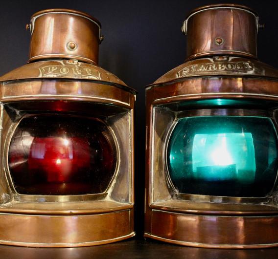 Maritime Copper Lights