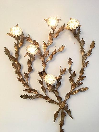 Florentine Regency Hollywood Artichoke Heart Lamp