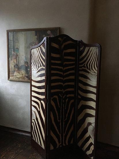 Victorian Zebra Hide Screen