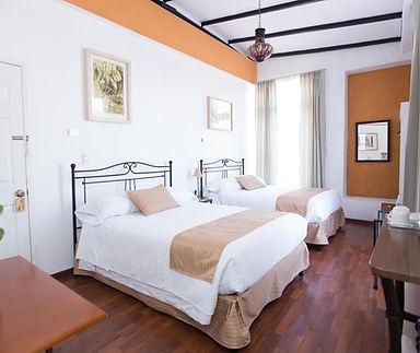 Habitación doble Hotel Pórtico