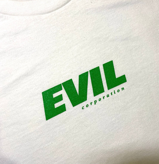 Evil shirt white/green