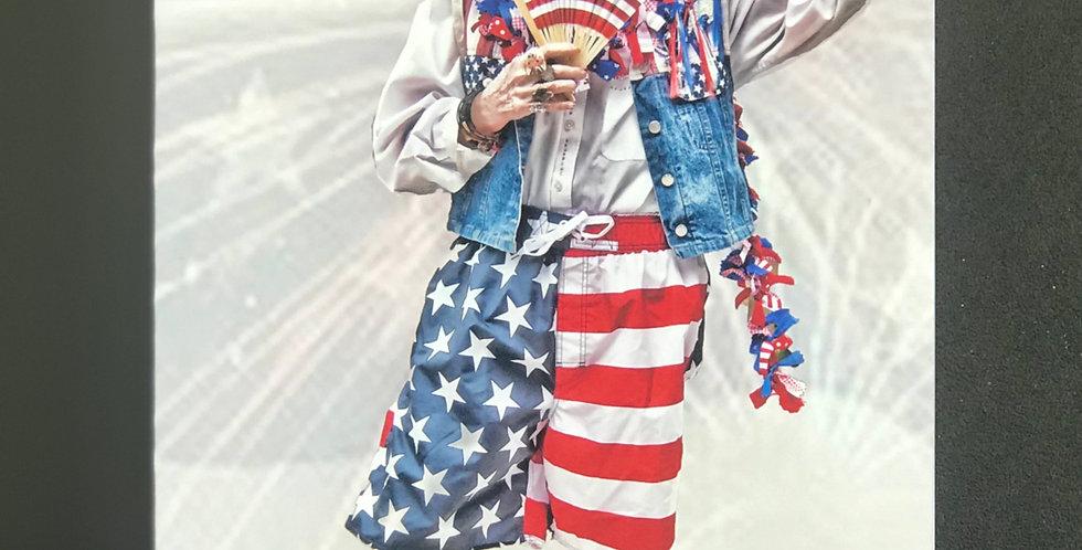 "Card, 5.5"" x 8.5"" - Celebrate America. Blank inside"