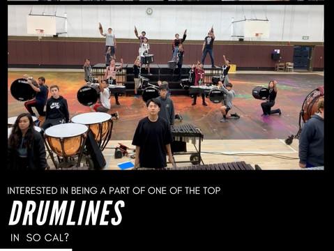 "Fall 2021 Percussion ""Drumline"" Zoom Clinics"