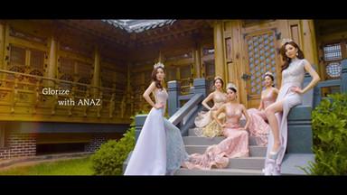Miss Glorize Korea with ANAZ CF