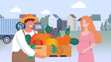임산부 친환경농산물꾸러미 지원사업 홍보영상