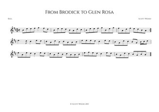 From Brodick to Glen Rosa