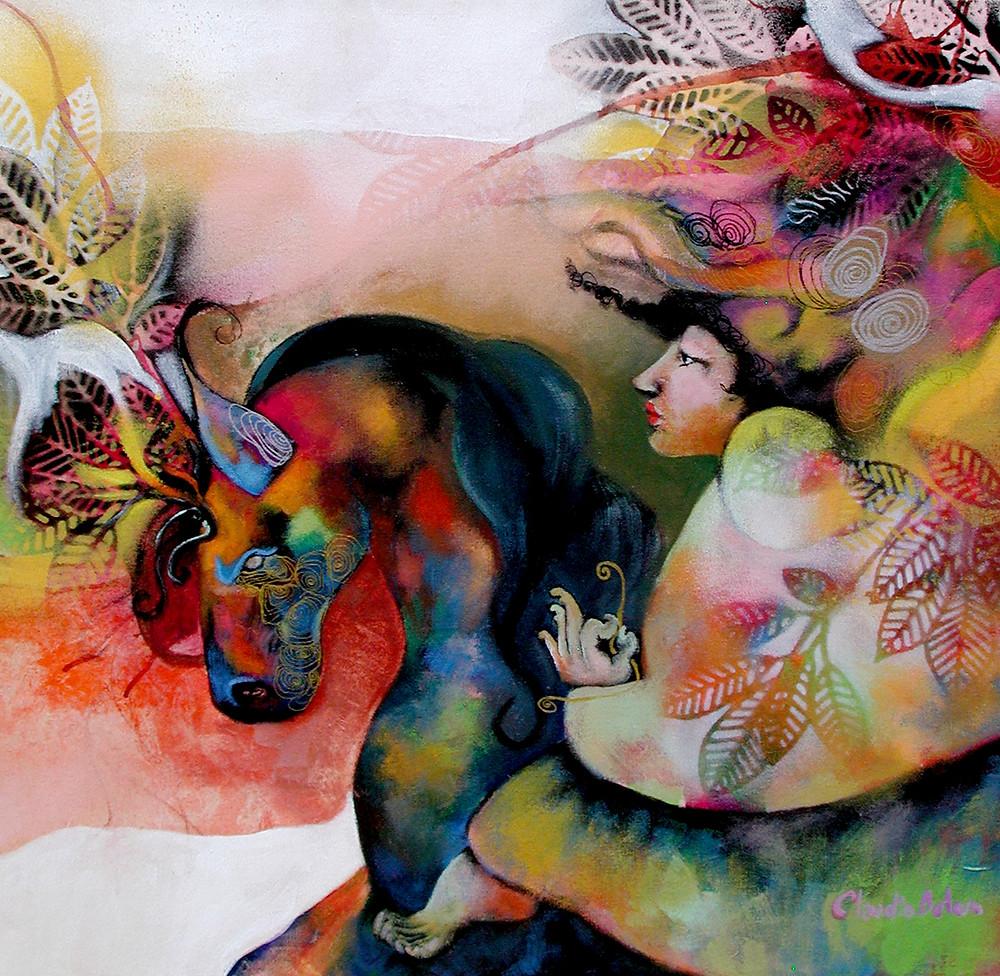 "Obra de Claudia Botero: ""De príncipe a..."""