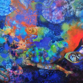 #sea #sirenas #mermaid #love #art #color
