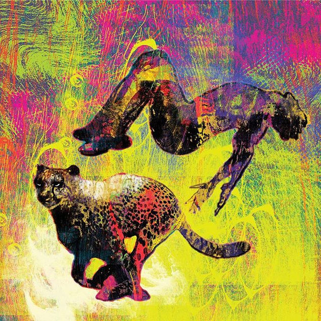 #jaguar #colorful #colorfulart #art to g