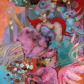 #horse #pegasus #atenea #art #colorful #