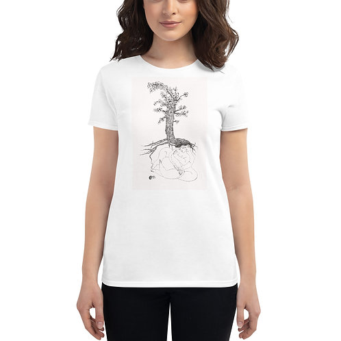 Camiseta de manga corta para mujer copia