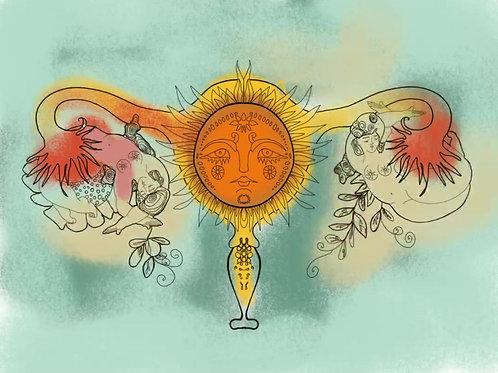 Arte para Tu Utero - Descarga y Colorea