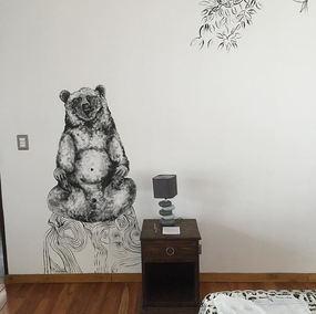 #mural #bear #decorationinterieur #anima