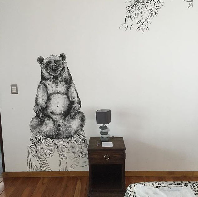 #mural #bear #decorationinterieur #anima
