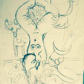 #art #soul #chaman #Magic #drawing #desi