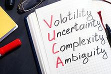 VUCA volatility, uncertainty, complexity