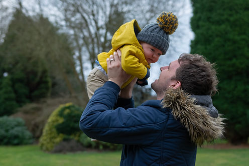 Portrait Photography - Father & Son In Winter