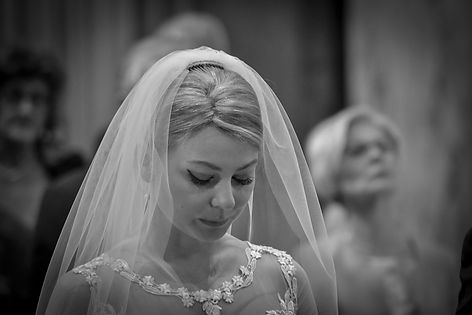 Natalia Radcliffe - Photo of bride during a moment of prayer