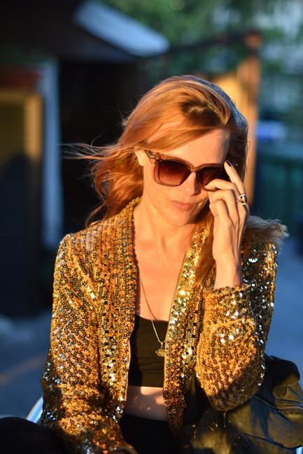 Natalia Radcliffe - Glitter Portrait