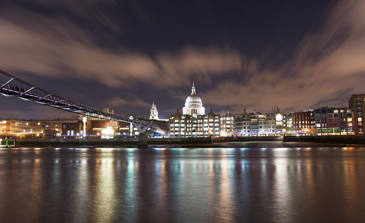 Natalia Radcliffe - St Paul's Cathedral At Night