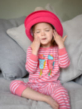 Portrait Photography - Girl in Pink Hat