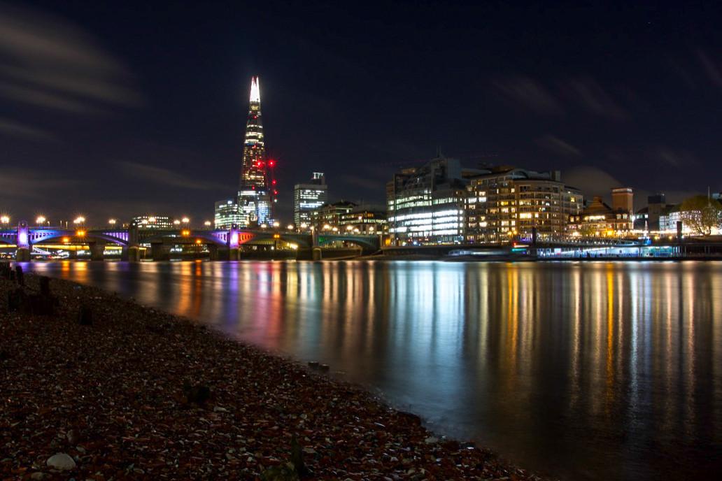 Natalia Radcliffe - London at night