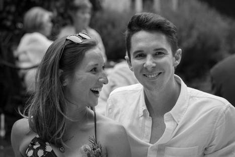 Natalia Radcliffe - Happy Couple in Black and White