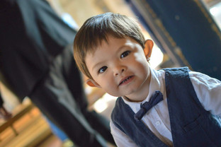Natalia Radcliffe - Portrait Photography - Toddler In Bowtie