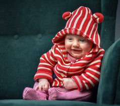 Natalia Radcliffe - Portrait Photography - Baby in Red 1