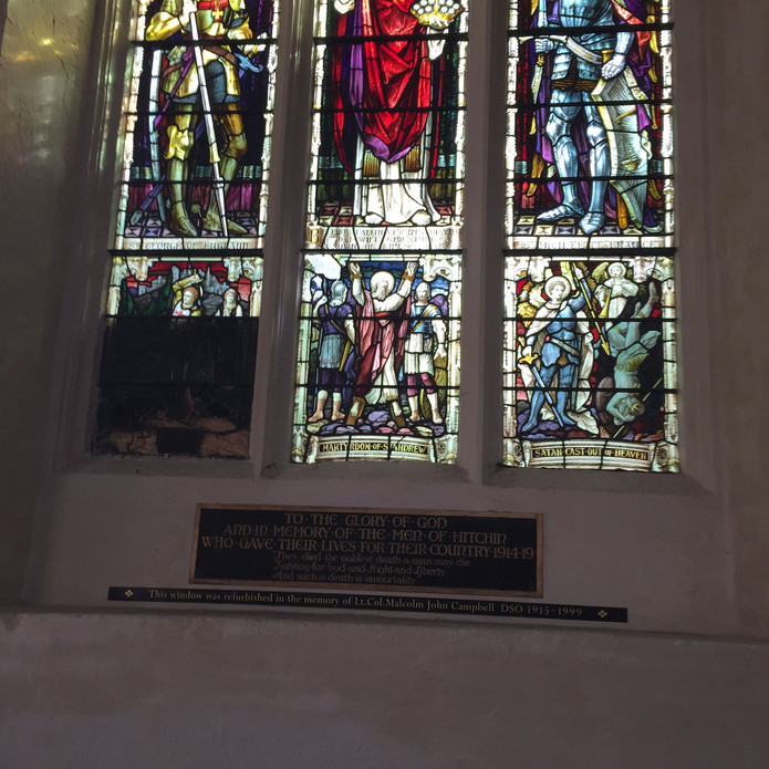 Donation helps rescue St Mary's Church