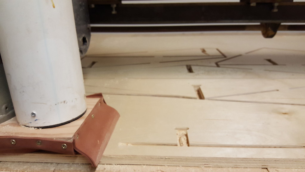 CNC closeup