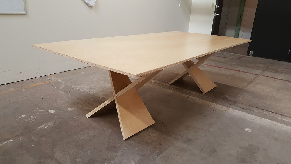 The Finished Conference Table