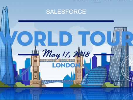 Five Tips to make the most of Salesforce World Tour - London